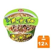 味王巧食齋素食麵83g(12碗入)/箱【康鄰超市】