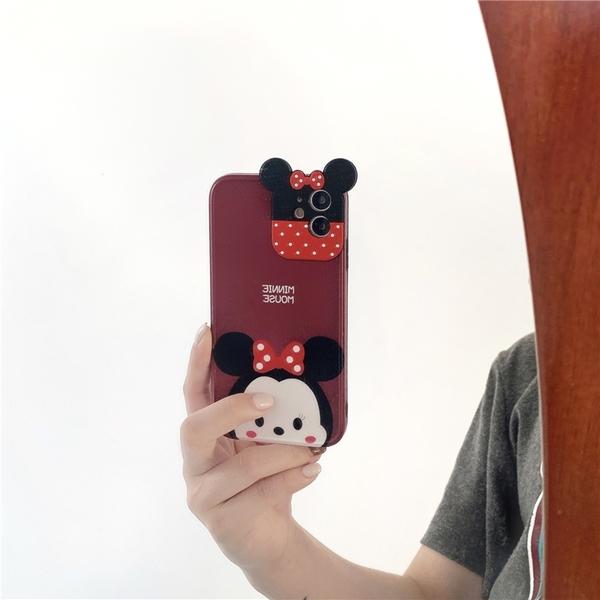 米奇米妮 適用 iPhone12Pro 11 Max Mini Xr X Xs 7 8 plus 蘋果手機殼