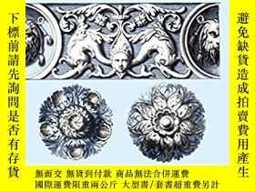 二手書博民逛書店Baroque罕見Ornament and Designs 巴洛