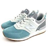 《7+1童鞋》中童 NEW BALANCE  PH574KW  魔鬼氈 復古鞋 運動鞋 9390  藍色