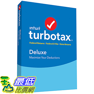 [106美國直購] TurboTax Deluxe Federal and State _A1092660