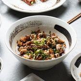 8寸日式大號湯碗創意家用湯碗個性陶瓷大碗