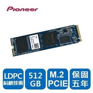 【綠蔭-免運】Pioneer 先鋒 APS-SE20G-256固態硬碟(M.2 PCIE)(五年保)