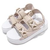 Puma 拖鞋 Platform Slide YLM 19 米白 白 厚底 女鞋 Fenty 涼拖鞋 涼鞋【PUMP306】 36942402