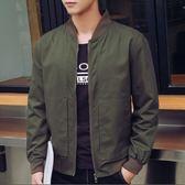 加大尺碼 M~5L 夾克 時尚素面格紋內裡外套(三色)【TJBSBL1318】