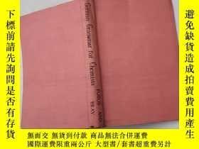 二手書博民逛書店german罕見grammar for chemists and other science students【3