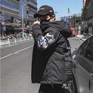 經典潮流美式街頭迷彩風格保暖棉連帽外套