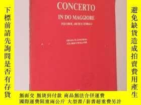 二手書博民逛書店Vivaldi罕見Concerto in do maggiore 維瓦爾第 C大調雙簧管協奏曲 鋼琴伴奏(大16開