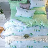 【eyah】100%時尚天使絨床包枕套組-單人/雙人/加大 均一價單人-青澀日記