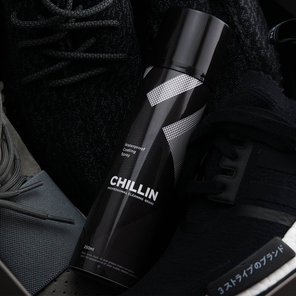 【GT】Chillin Waterproof 專業鞋品防水噴霧 抗汙疏油 鍍膜防雨 球鞋專用 250ml 台灣製造MIT