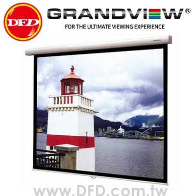 GRANDVIEW 美視 FA-P100WM 100吋 16:9 幻彩系列 手動安全減速銀幕 公司貨