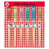 【震撼精品百貨】Hello Kitty 凱蒂貓-凱蒂貓5入筷子-家族圖案