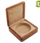 非洲花梨木紫檀純實木手鐲玉鐲盒翡翠玉器手串手鍊盒