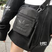 IMPACT Adidas Originals Festival Bag 三葉草 側背包 黑 超實用 男女 DV0216