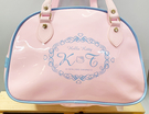【震撼精品百貨】Hello Kitty_凱蒂貓~Sanrio HELLO KITTY防水手提包/透明防水包-粉藍#05262