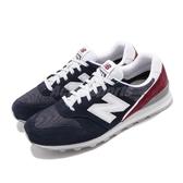 New Balance 慢跑鞋 NB 996 寬楦 藍 紅 女鞋 運動鞋 麂皮 【ACS】 WL996BAD