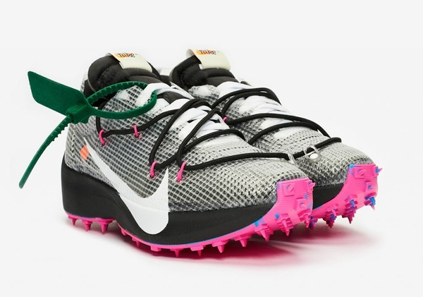 -[TellCathy]Off-White x Nike Vapor Street 黑紫 釘鞋 女款 Off-White聯名 超限量 CD8178-001