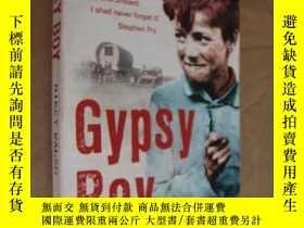 二手書博民逛書店英文原版】Gypsy罕見Boy by Mikey WalshY1