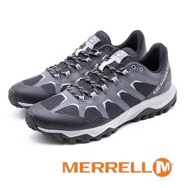 【南紡購物中心】MERRELL (男)Fiery Gore -Tex® 防水郊山健行鞋 男鞋 - 灰(另有黑)