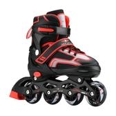 旱冰鞋3-4-5-6-7-8-9-10-11歲溜冰鞋兒童全套裝可調旱冰鞋男女童輪滑鞋