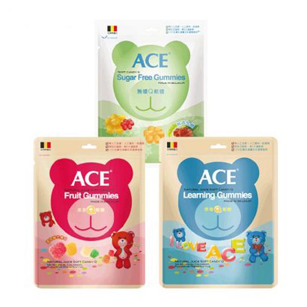 ACE 水果/字母/無糖 Q軟糖 240g【德芳保健藥妝】