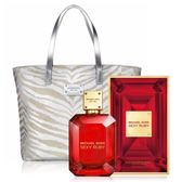 Michael Kors Ruby 女伶女性淡香精(100ml)+MK金燦托特包(16.5X32CM)