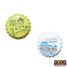 【收藏天地】瓶蓋冰箱貼- 台南建築(1組2入)∕ 磁鐵 文創 家飾 居家