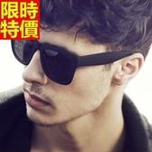太陽眼鏡 偏光墨鏡(單件)-復古造型方形大框個性男女配件7色67f10[巴黎精品]
