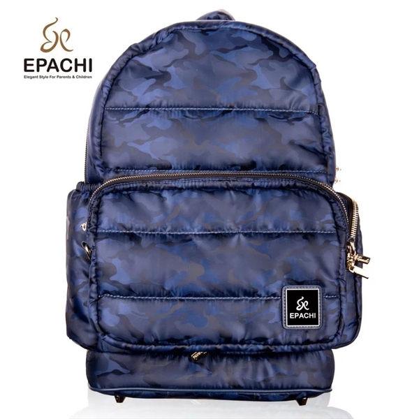 EPACHI WOW 時尚多功能雙拆卸藍寶迷彩後背包(尺寸:L)