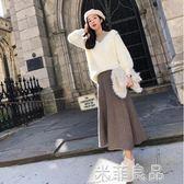 港味小清新兩件套女神范氣質女裝裝毛衣套裝時尚 『米菲良品』