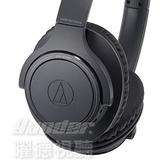 【曜德視聽】鐵三角 ATH-SR30BT 黑色 輕量化 無線藍牙耳罩式耳機 續航力70HR / 送收納袋