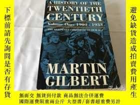 二手書博民逛書店Martin罕見Gilbert : A History of the Twentieth Century 二十世紀
