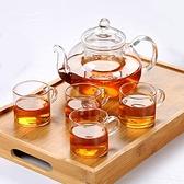 正揚加厚玻璃茶具 整套功夫煮茶壺杯  自由角落