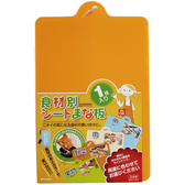 日本製【Inomata】0058軟式分類砧板 / 蔬菜
