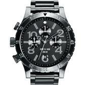 NIXON 48-20 CHRONO 潮流重擊運動腕錶-A486632