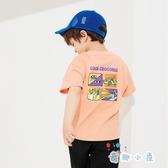 兒童短袖套裝男童褲子寶寶童裝純棉T恤【奇趣小屋】