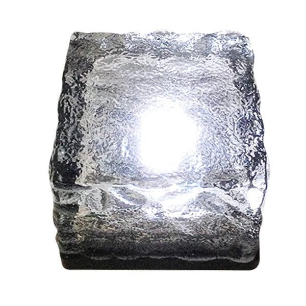 LED太陽能地磚草坪燈【買三送一】草皮燈戶外庭院路燈花園別墅院子燈鑽石燈【AH-149】