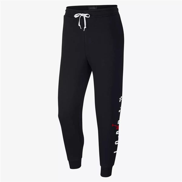 NIKE Air Jordan Jumpman Air 黑 白紅 飛人 長棉褲 (布魯克林) 2018/9月 AR4787-010