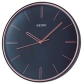 【時間光廊】SEIKO 精工 滑動式秒針 靜音(QXA739L)-深藍/28cm