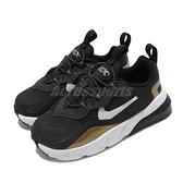 Nike 休閒鞋 Air Max 270 RT TD 黑 金 童鞋 小童鞋 運動鞋 【ACS】 CD2654-005