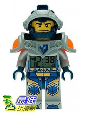 [美國直購] LEGO 9009419 人偶鬧鐘 忍者 Kids Ninjago Nexo Kights Mini-Figure Alarm Clock