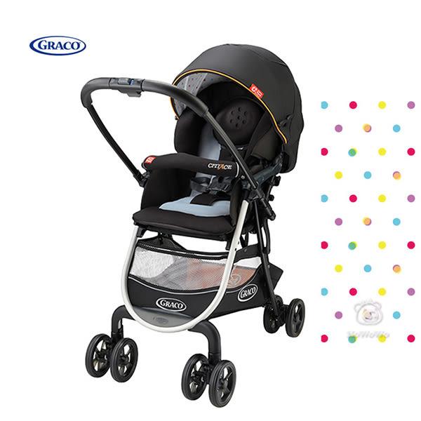 GRACO 購物型雙向嬰幼兒手推車 城市商旅 38015 好娃娃
