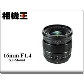 ★相機王★Fujifilm XF 16mm F1.4 R WR 平行輸入