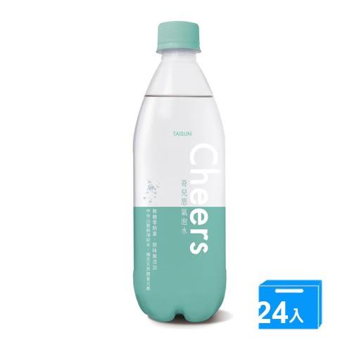 CHEERS氣泡水 500ml*24【愛買】