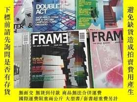二手書博民逛書店FRAME罕見記錄時代的精神 外文原版雜誌2008年,總第60.61.62.63.64.65..共6本合售Y1