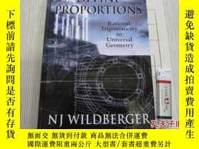 二手書博民逛書店Divine罕見Proportions: Rational Trigonometry to Universal G