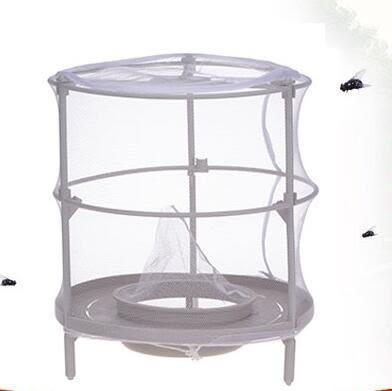 滅蚊器 捕蠅器撲蠅器家用捕蠅籠捕蠅網蒼蠅籠環保物理捕蠅器蠅籠滅蠅神器 雲雨尚品