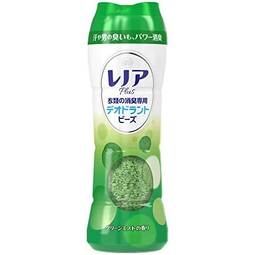 レノアPLUS 消臭專用洗衣芳香粒-綠色綠草清香