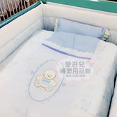 【愛吾兒】童心 Child Mind 伯爵熊五件式寢具組L