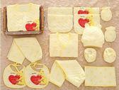 新生嬰兒純棉保暖衣服禮盒套裝秋冬季滿月初生寶寶送禮物必備用品 森活雜貨